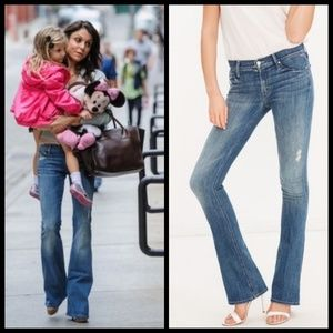 💕MOTHER💕 The Runaway Flare Leg Skinny Jeans 🎉HP